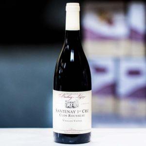 Domaine Bachey-Legros Clos Rousseau Vieilles Vignes Santenay Premier Cru