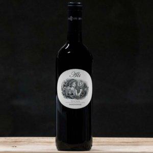 Rødvin fra Toscana
