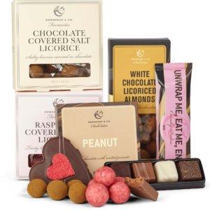 luksus gave chokolade pose fra Konnerup